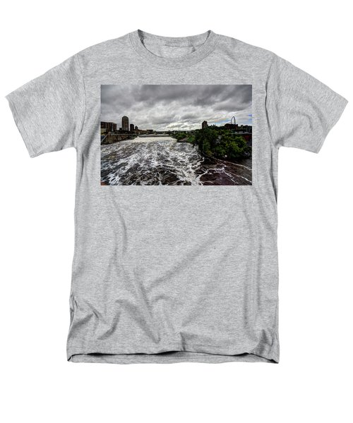 St Anthony Falls Men's T-Shirt  (Regular Fit) by Amanda Stadther
