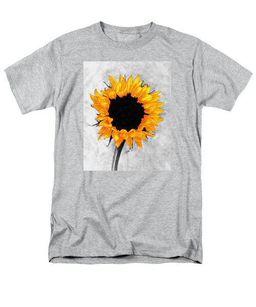 Men's T-Shirt  (Regular Fit) featuring the photograph Sun Fire 2 by I'ina Van Lawick