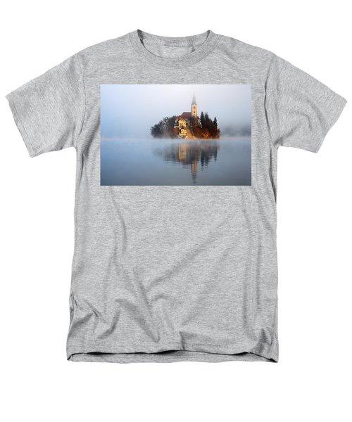 Through The Mist Men's T-Shirt  (Regular Fit) by Ian Middleton