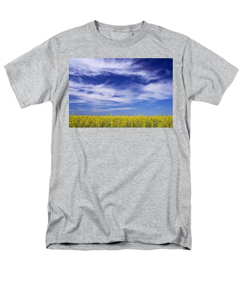 Men's T-Shirt  (Regular Fit) featuring the photograph Where Land Meets Sky by Keith Armstrong