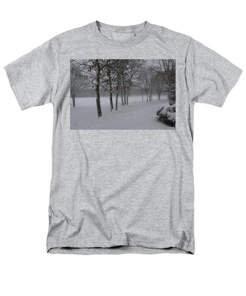 2 2014 Winter Of The Snow Men's T-Shirt  (Regular Fit) by Paul SEQUENCE Ferguson             sequence dot net