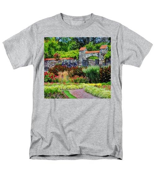 Biltmore Gardens Men's T-Shirt  (Regular Fit) by Savannah Gibbs