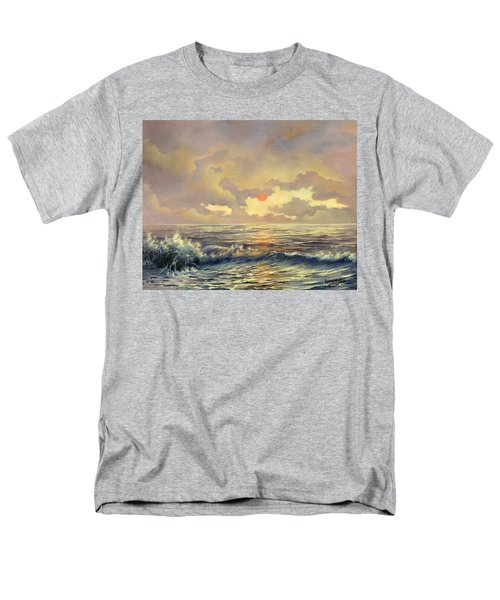 Men's T-Shirt  (Regular Fit) featuring the painting Cappuccino Bay by Lynne Wright