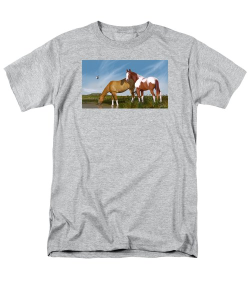 Destiny On Buffalo Plateau Men's T-Shirt  (Regular Fit) by Kate Black