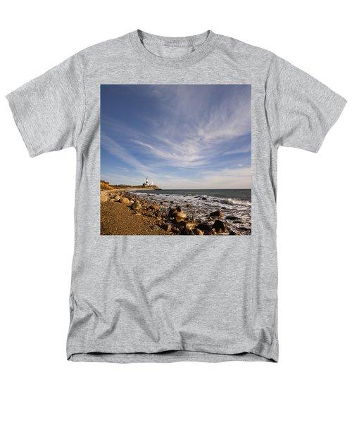 Montauk Point Lighthouse Men's T-Shirt  (Regular Fit)