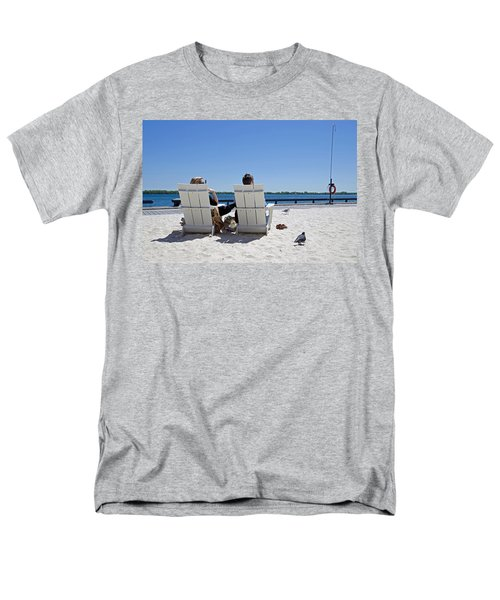 Men's T-Shirt  (Regular Fit) featuring the photograph On The Waterfront by Keith Armstrong