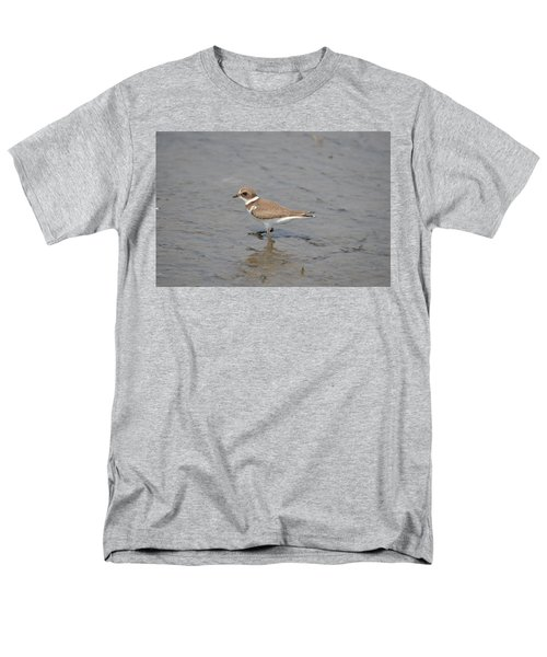 Semipalmated Plover Men's T-Shirt  (Regular Fit) by James Petersen