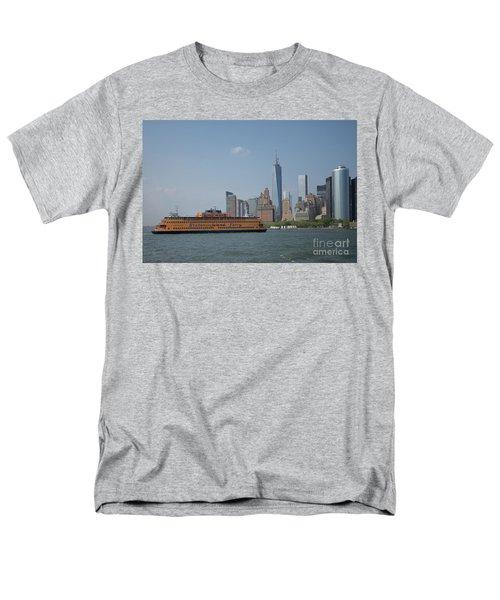Staten Island Ferry Men's T-Shirt  (Regular Fit) by Carol Ailles