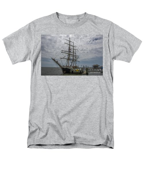 Men's T-Shirt  (Regular Fit) featuring the photograph Tall Ship Gunilla by Dale Powell