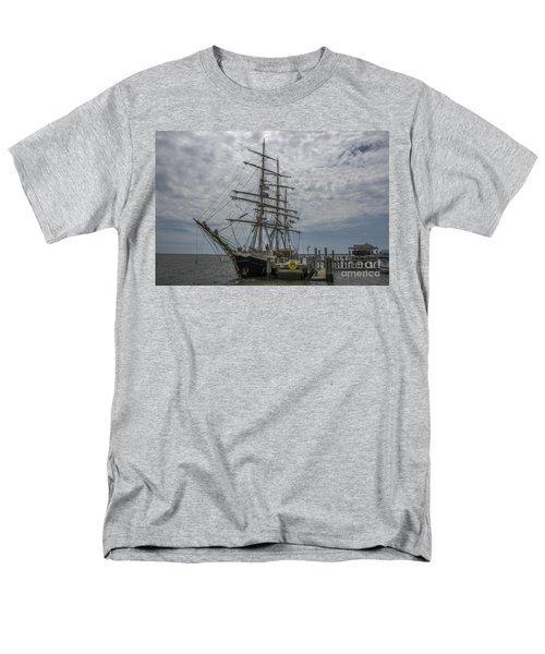 Tall Ship Gunilla Men's T-Shirt  (Regular Fit) by Dale Powell