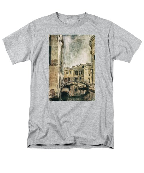 Venice Back In Time Men's T-Shirt  (Regular Fit) by Julie Palencia