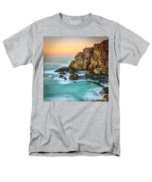 Penencia Point Galicia Spain Men's T-Shirt  (Regular Fit) by Pablo Avanzini