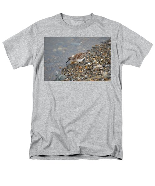 Men's T-Shirt  (Regular Fit) featuring the photograph Semipalmated Sandpiper by James Petersen