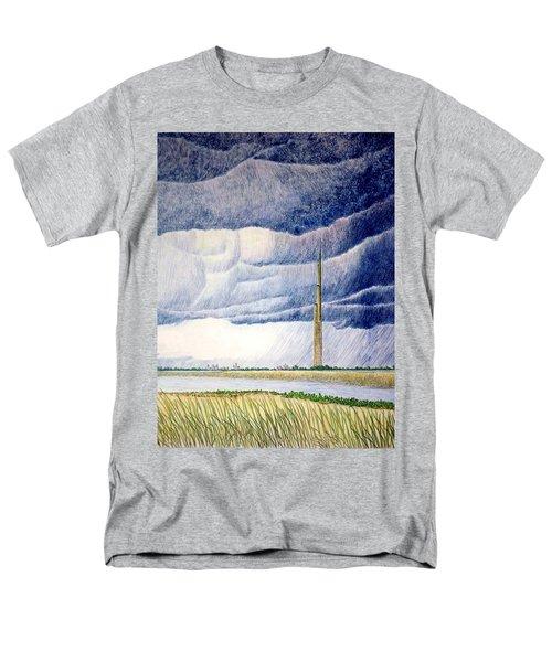 A Finger To The Sky Men's T-Shirt  (Regular Fit)