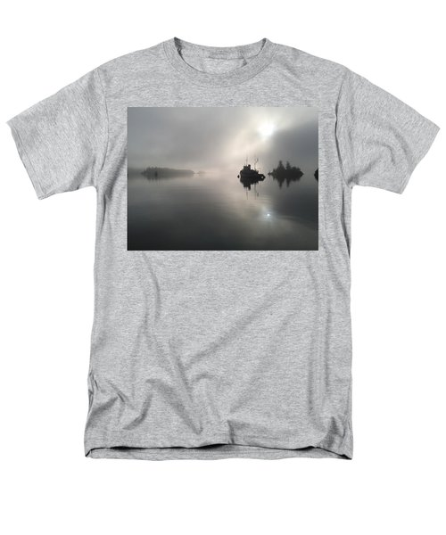 A Moody Morning Men's T-Shirt  (Regular Fit) by Mark Alan Perry