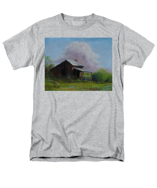 Men's T-Shirt  (Regular Fit) featuring the painting Abondoned Memories  by Gene Gregory