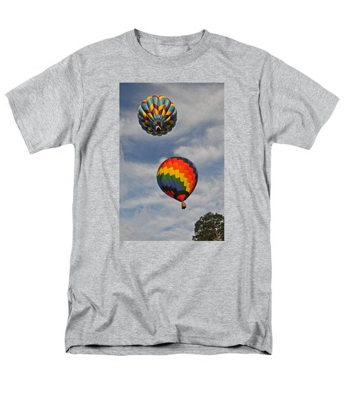 Men's T-Shirt  (Regular Fit) featuring the photograph Above The Treetop by Mike Martin