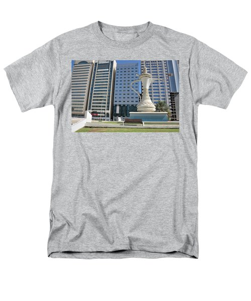 Abu Dhabi Al Ittihad Square Men's T-Shirt  (Regular Fit)