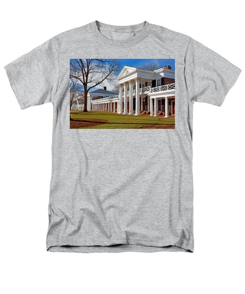 Academical Village At The University Of Virginia Men's T-Shirt  (Regular Fit) by Melinda Fawver