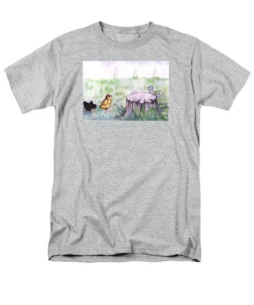 Adventurous Chicks Men's T-Shirt  (Regular Fit) by Francine Heykoop