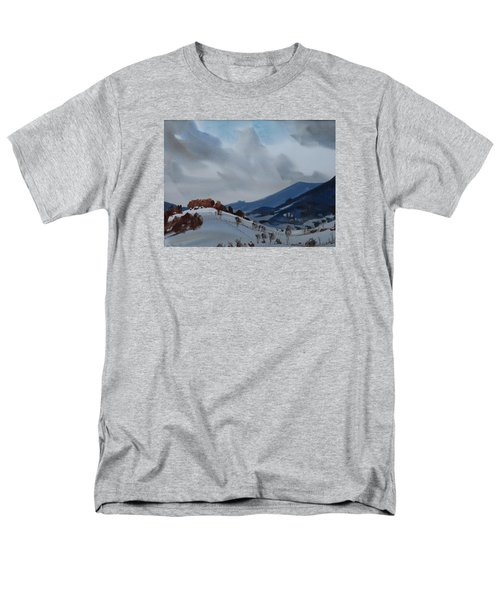 Men's T-Shirt  (Regular Fit) featuring the painting Airyhill by Len Stomski