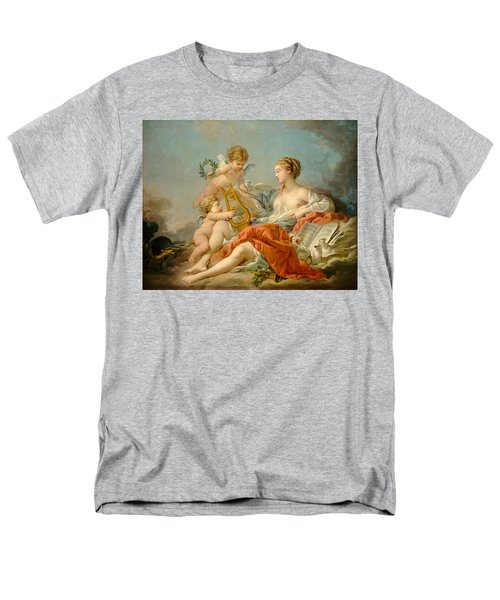 Allegory Of Music Men's T-Shirt  (Regular Fit) by Francois Boucher