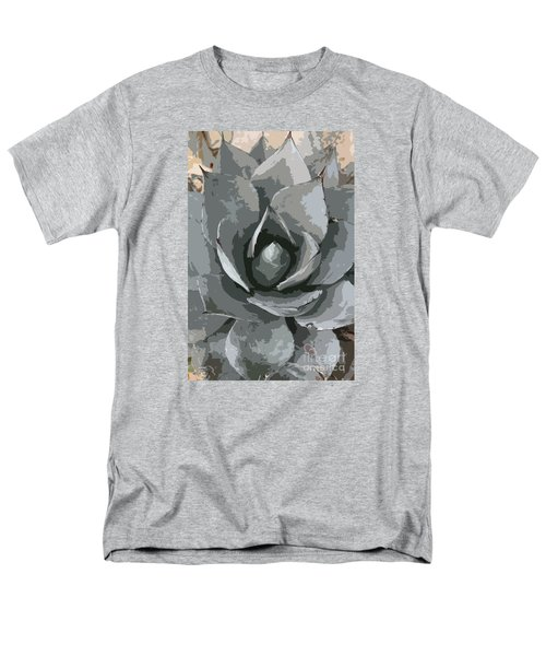 Aloe Vera Abstract Men's T-Shirt  (Regular Fit) by Christiane Schulze Art And Photography