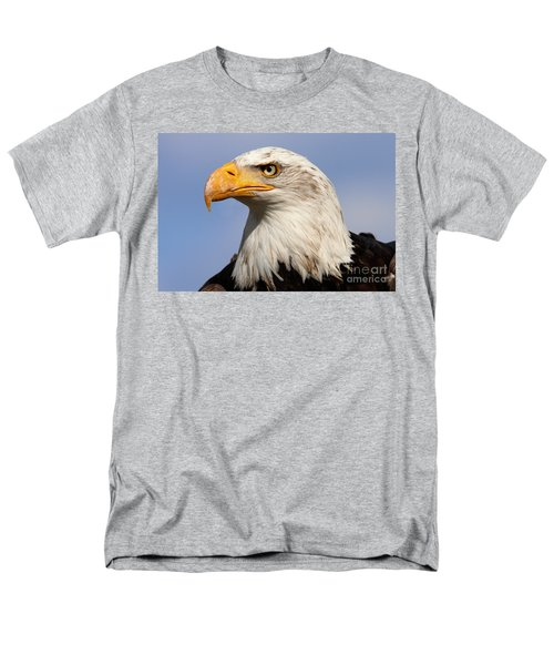 Men's T-Shirt  (Regular Fit) featuring the photograph American Bald Eagle by Nick  Biemans