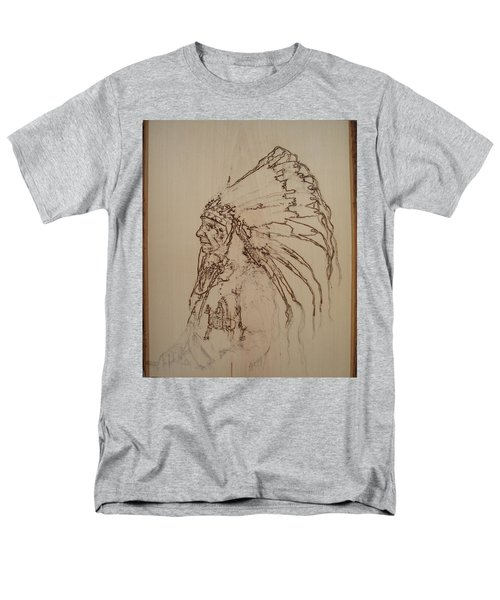 American Horse - Oglala Sioux Chief - 1880 Men's T-Shirt  (Regular Fit) by Sean Connolly