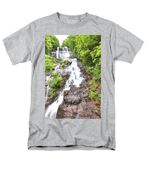 Amicalola Falls Men's T-Shirt  (Regular Fit) by Gordon Elwell