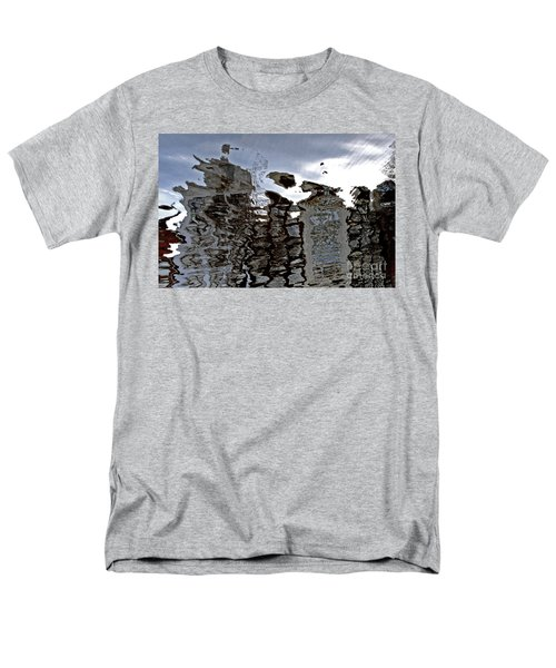 Men's T-Shirt  (Regular Fit) featuring the photograph Amsterdam Reflections 2 by Andy Prendy