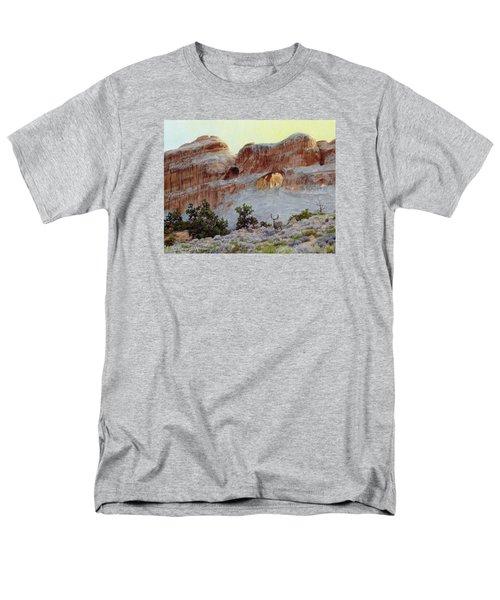 Arches Mulie Men's T-Shirt  (Regular Fit) by Bruce Morrison