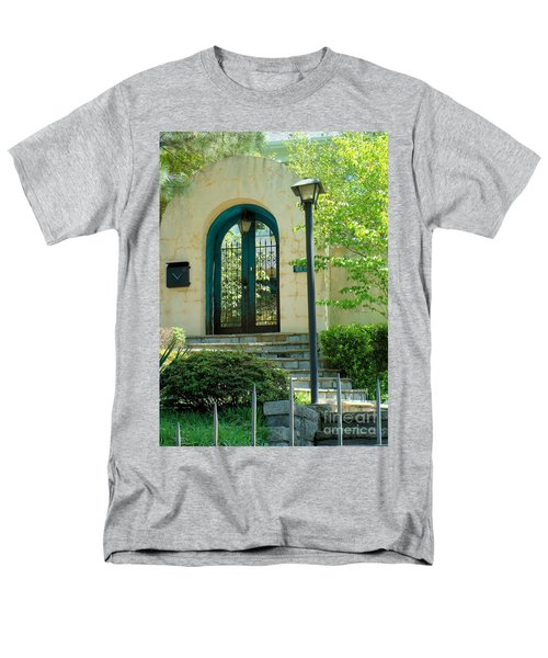 Men's T-Shirt  (Regular Fit) featuring the photograph Archway In Swan Lake by Janette Boyd