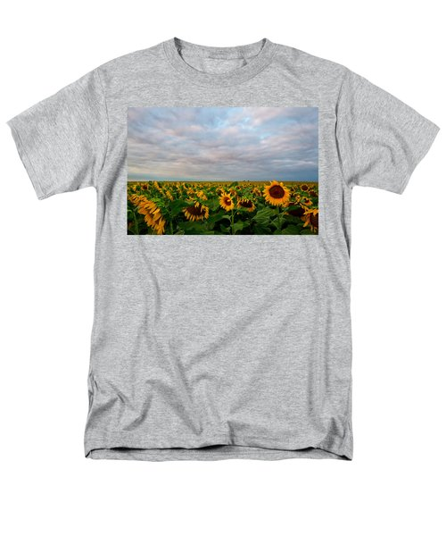 Men's T-Shirt  (Regular Fit) featuring the photograph As Far As The Eye Can See by Ronda Kimbrow