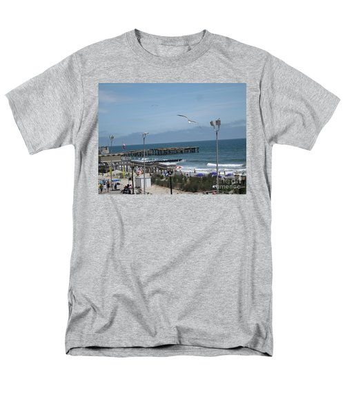 Men's T-Shirt  (Regular Fit) featuring the photograph Atlantic City 2009 by HEVi FineArt