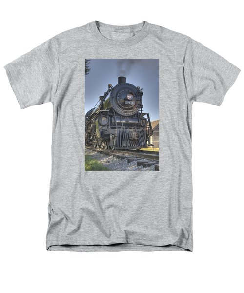Atsf 3415 Head On Men's T-Shirt  (Regular Fit) by Shelly Gunderson