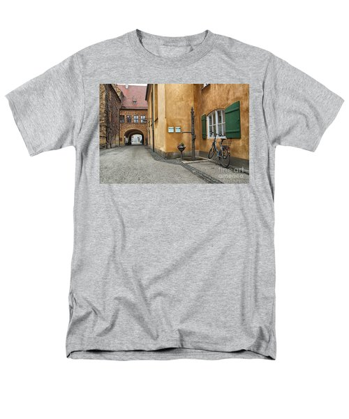 Men's T-Shirt  (Regular Fit) featuring the photograph Augsburg Germany by Paul Fearn
