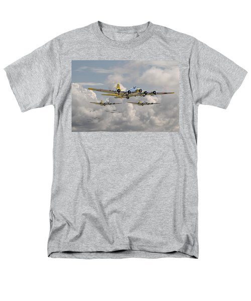 B17 486th Bomb Group Men's T-Shirt  (Regular Fit) by Pat Speirs