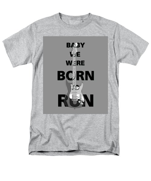 Baby We Were Born To Run Men's T-Shirt  (Regular Fit) by Gina Dsgn