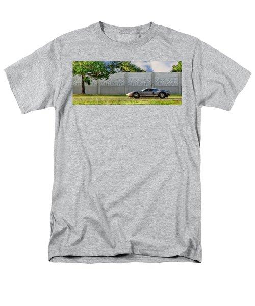 Badass Petunia Men's T-Shirt  (Regular Fit) by Sennie Pierson