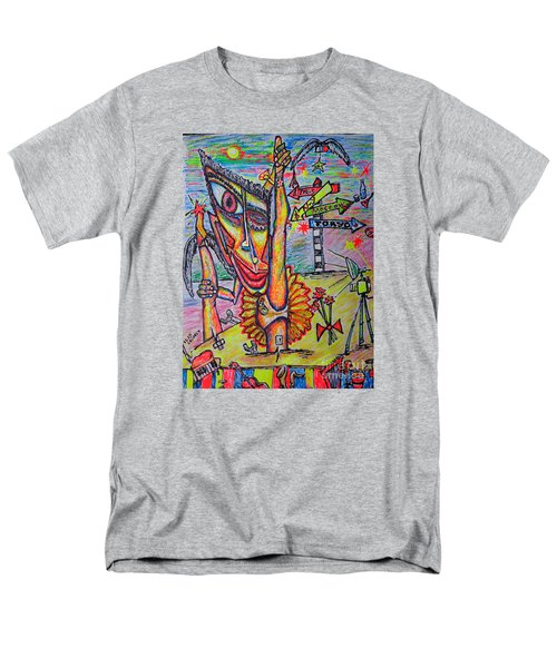 Men's T-Shirt  (Regular Fit) featuring the painting Ballet/sketch/ by Viktor Lazarev