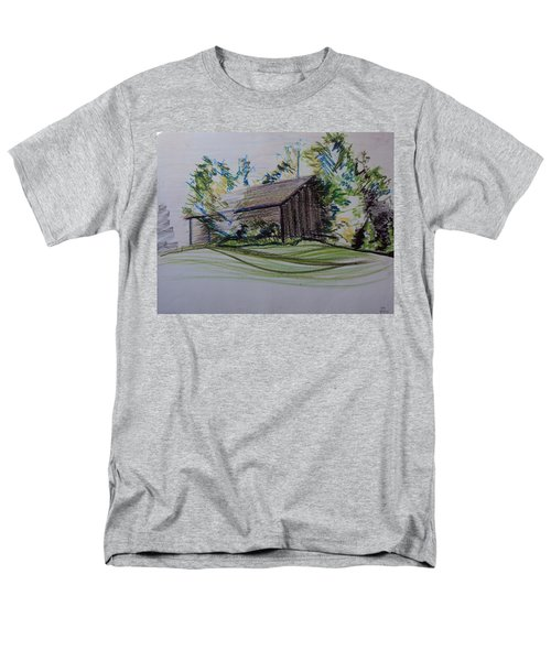 Old Barn At Wason Pond Men's T-Shirt  (Regular Fit) by Sean Connolly