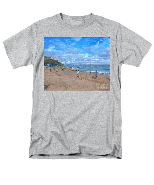 Beach Cricket Men's T-Shirt  (Regular Fit) by Andrew Macara