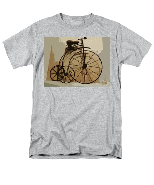 Big Wheel Trike Men's T-Shirt  (Regular Fit) by Ecinja Art Works