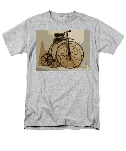 Men's T-Shirt  (Regular Fit) featuring the photograph Big Wheel Trike by Ecinja Art Works