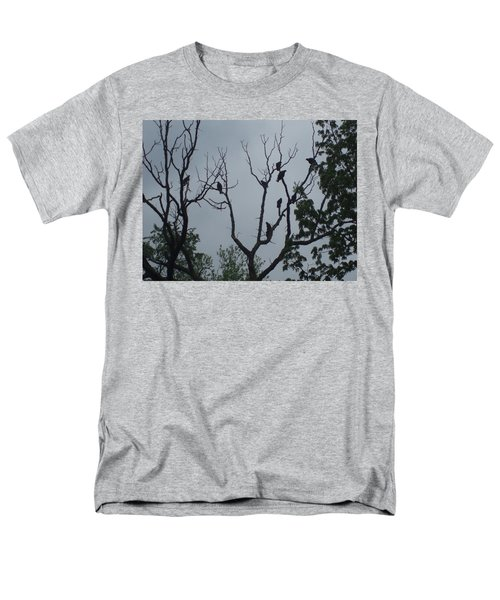 Men's T-Shirt  (Regular Fit) featuring the photograph Birds by Fortunate Findings Shirley Dickerson