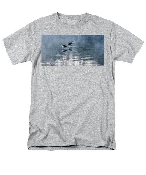 Black-necked Stilts Men's T-Shirt  (Regular Fit) by Tam Ryan