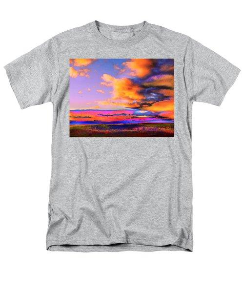 Blinn Hill View Men's T-Shirt  (Regular Fit) by Expressionistart studio Priscilla Batzell