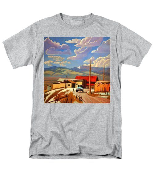 Men's T-Shirt  (Regular Fit) featuring the painting Blue Apache by Art James West