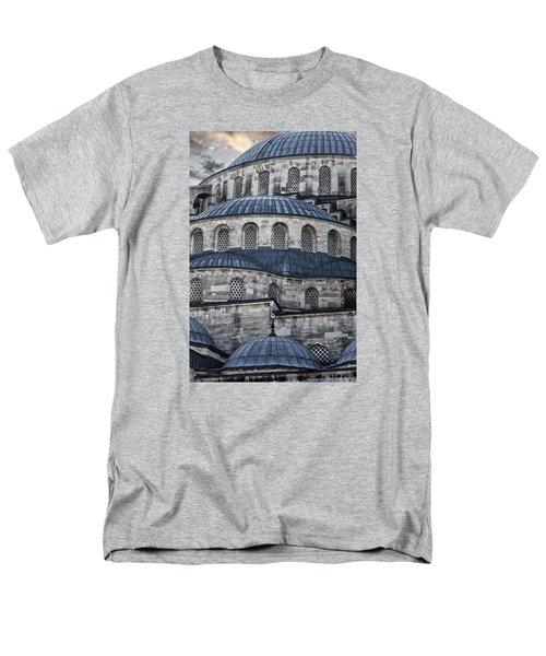 Blue Dawn Blue Mosque Men's T-Shirt  (Regular Fit) by Joan Carroll